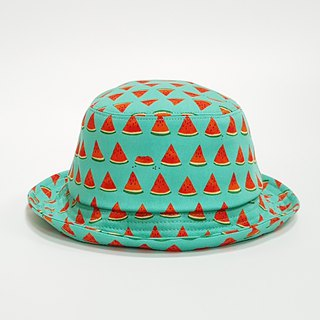 Classic fisherman hat - Solution your thirsty green watermelon 2018 Summer new item # Wenqing # Fisherman hat