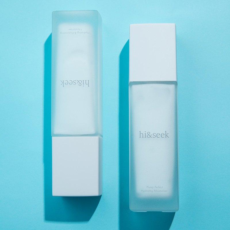 【即期良品超值雙瓶組】hi&seek即效水感滋潤/高清美肌保濕雪凝乳