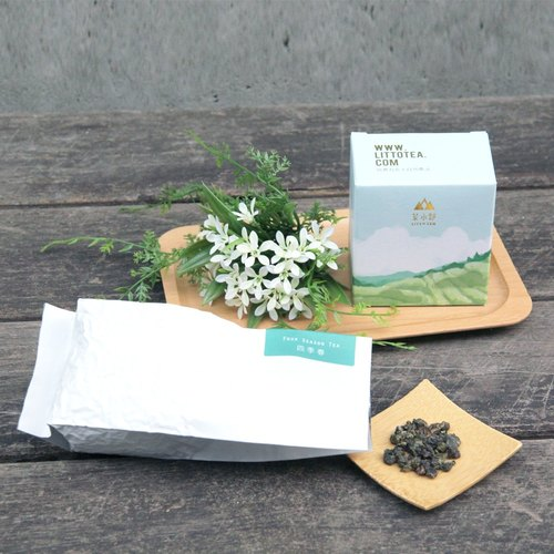 【Department of tea】 Four seasons spring Oolong tea 75g sweet sweet back to the natural agricultural law