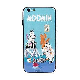 Moomin 噜噜米 authorized - mobile phone glass case, AE06