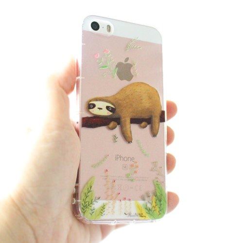 Sloth Phone Case (iPhone, Samsung, HTC, LG, Sony...)