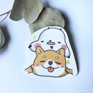 Xiong Ye waterproof sticker (white background)