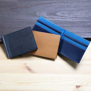 革職人 LEATHER FACTORY【BEAM Money Clip Fold Wallet】Made in Japan