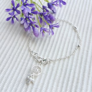 Little Lace Flower Bracelet
