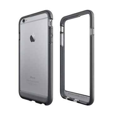 British super Tech21 Impact Evo Band iPhone 6 / 6S Plus crash protection soft borders - through ash (5055517342124)