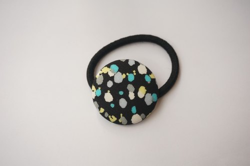 Sienna bag buckle elastic hair headband black hand ring ring