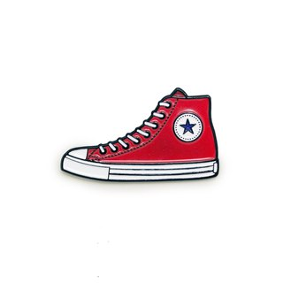 Red Sneakers Pin