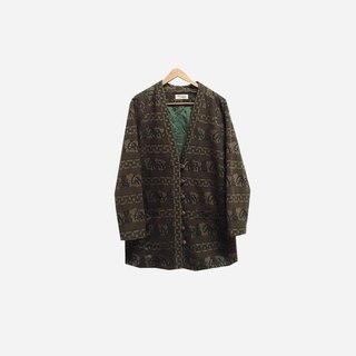 Dislocation vintage / fine knit cardigan coat no.161 vintage