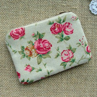 Zipper pouch / coin purse (padded) (ZS-271)