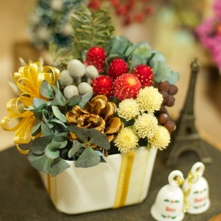 Fleurir blossoming time | Department of Classical Christmas gift Christmas gift hydrangea flowers dried flower dried flower ritual exchange of gifts can be customized