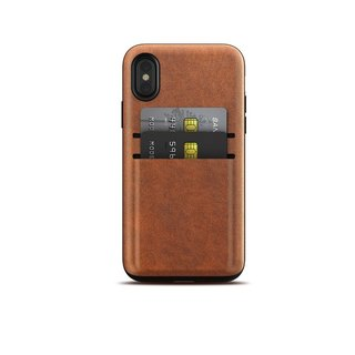 US NOMAD iPhone X card storage leather drop protection shell (855848007182)