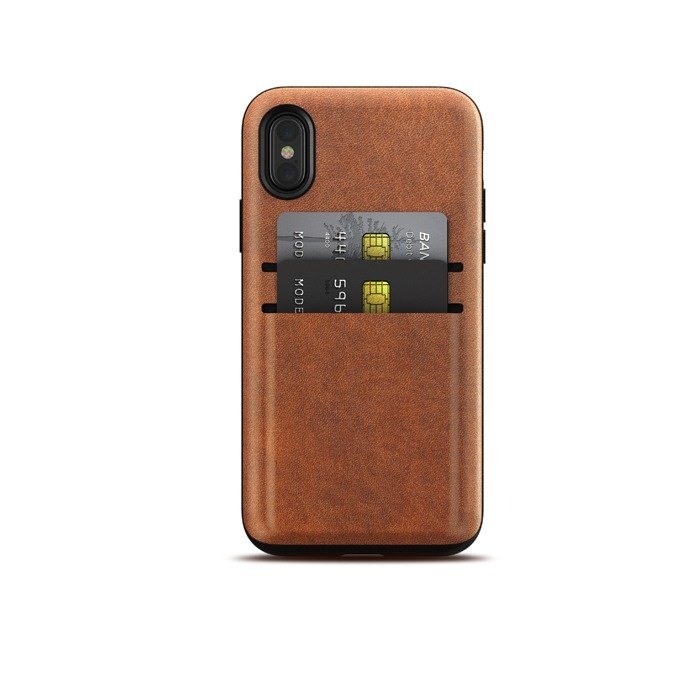 US NOMAD iPhone X/Xs card storage leather drop protection shell (855848007182)