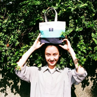 Handy Tote Bag _ Day Blue Blue (in stock)