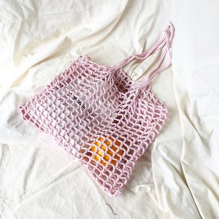 Soft Pink Nagridia Crochet Bag