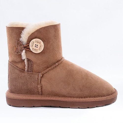 UGG Boots Shearers Australia Single Button Chestnuts