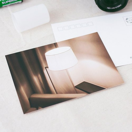 "Tour Tu | Travel Photography Postcard ""Light"" Original Art Modern Still Life Postcard collection"