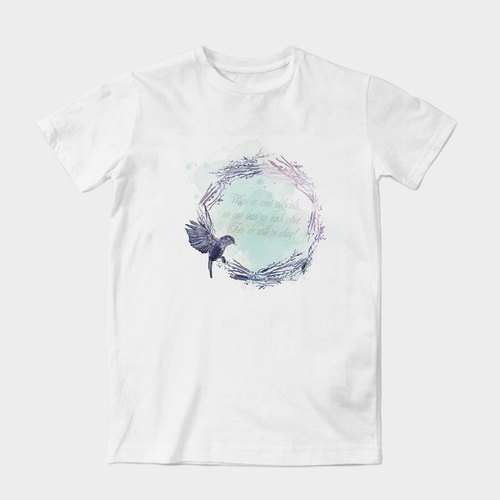 Neutral short-sleeved T-Shirt | nest by dragging artwork Wang | Z999UT023