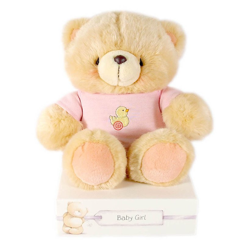 8吋/Lady Doll Plush Bear [Hallmark-ForeverFriends Hug Series]