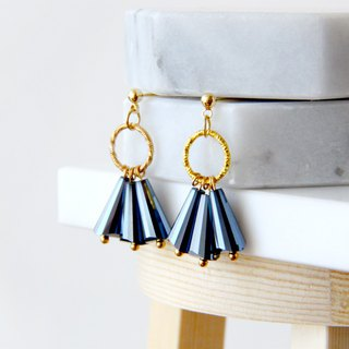 Farewell party farewell - drop earrings earrings (pair) = can change ear clip =