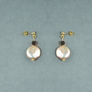 Baroque Pearl 925 Silver Earrings III