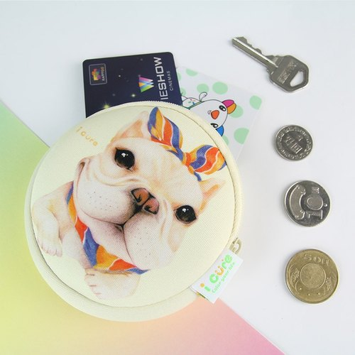 i money white coin hand painted wind - H5