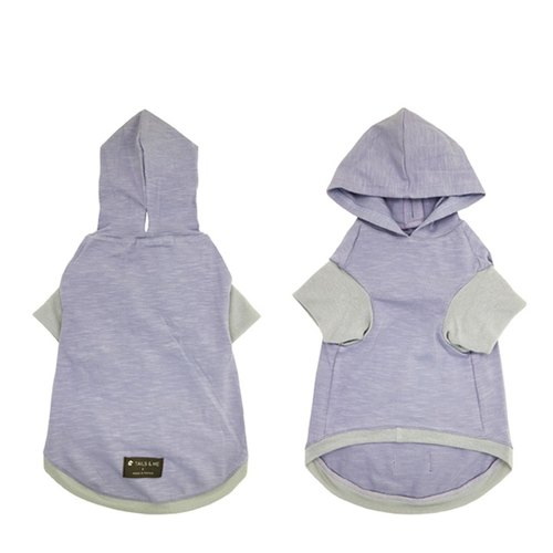 [Tail] with me purely Hooded pet clothing Lilac <2016 autumn and winter new color>