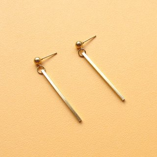 Minimalist columnar earrings _ Simple and stylish personality popular and elegant