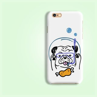 Driving Pug rigid hard Phone Case   iPhone X 8+ 7 6 Samsung S9 S8 plus Z5 LG G6