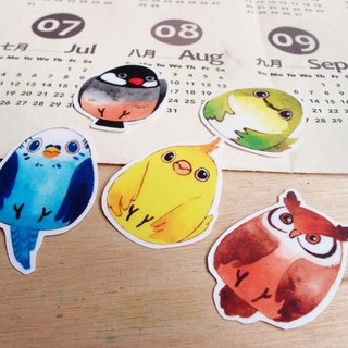 Bird egg/waterproof sticker