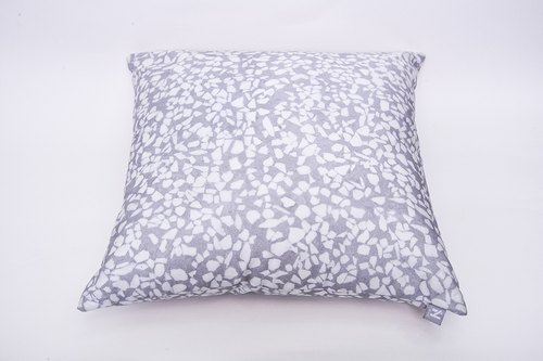 Grinding stone fabric series / grindstone fabric pillow / Terrazzo cloth - Cushion