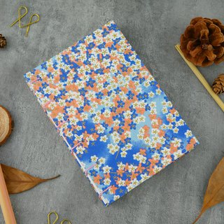 Flower Star - A6 manual notebook / PDA / diary / photo album / log / gift