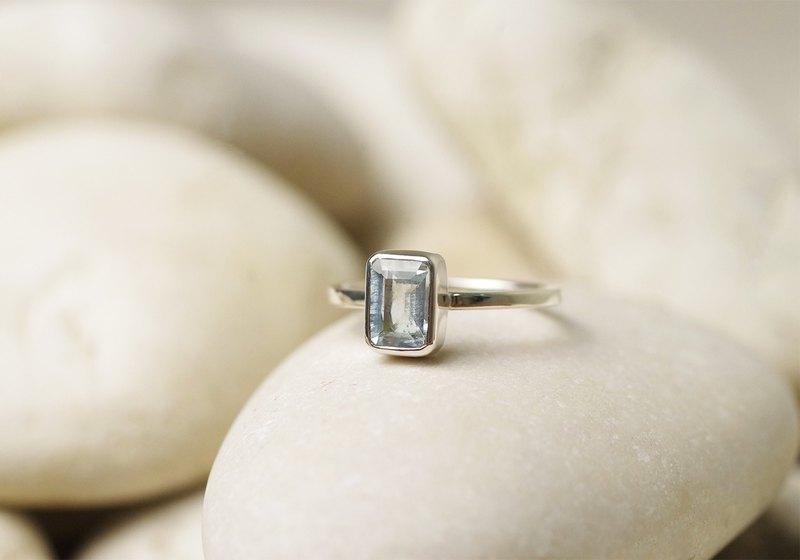 海藍寶石戒指-寶石戒指