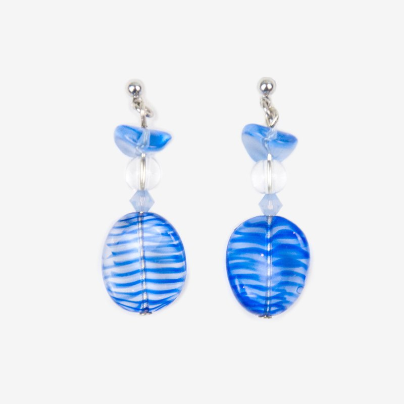 Ice Cube Wave Earrings