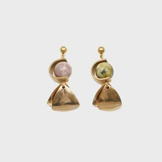 C-type Planets Earrings (Multi)