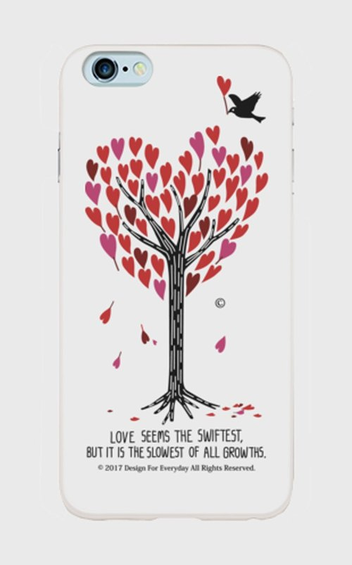 Heart full tree iPhone6Plus / 6SPlus iPhone7Plus Sumahokesu [order product]