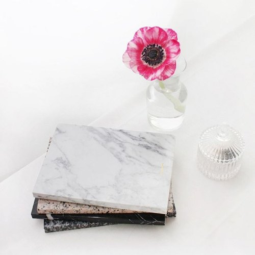 Dear-Maison marble Marble White Notebook - White, DMS50233