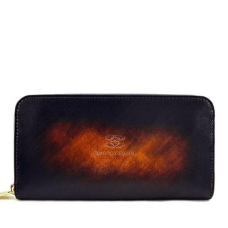 ACROMO Brown Zip Around Wallet