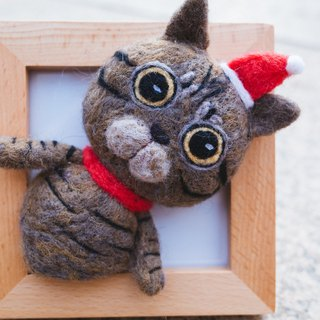 Wool Felt Cat Decoration