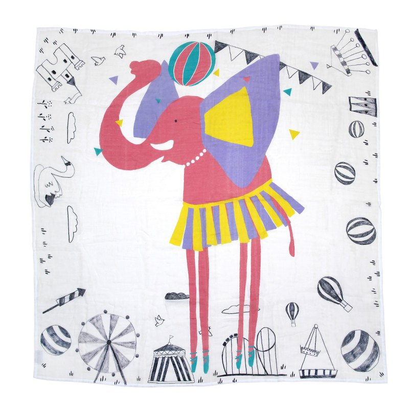 defyzoo cotton wrap card set│big ear dancer