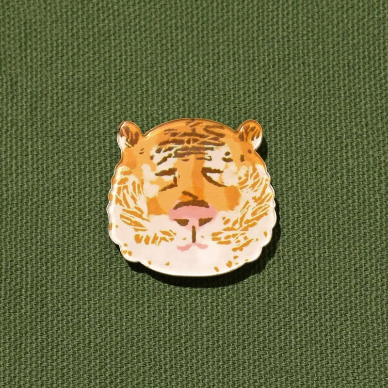 [Exclusive small things] Suyan makeup remover Tiger - thick cut pin