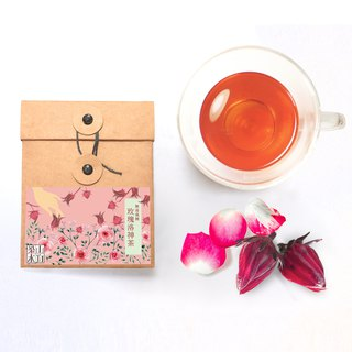 [梁山水泊] Frozen lemon friendly planting rose Luoshen tea