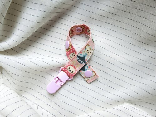 Russian doll - Clip-on pacifier chain