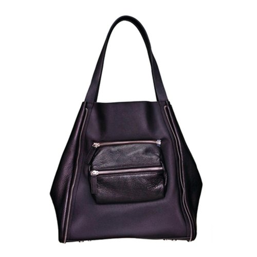 Amore Aijiadanni Super + star stylist Liu Dajiang yuppie joint models leather tote bag
