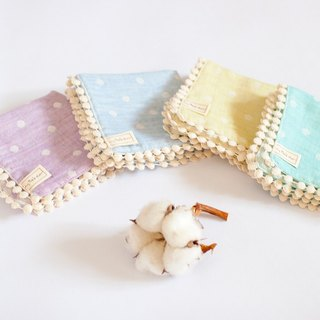 [My little star] level manpower for cotton candy 100% organic cotton yarn handkerchief quartet