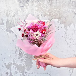 | Spring day agreement | Dry flowers. birthday present. Graduation bouquet. Daily bouquet. Pink line