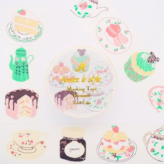 Aimez le style paper tape - tea and cake <A03812>