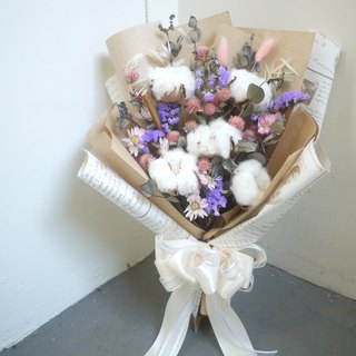 To be continued | Valentine's Day limited cherish the people around him - a large bouquet of dried flowers cotton spot