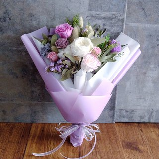 Still longing for paradise - Valentine's Day limited dry withered Korean bouquets - Valentines Day preserved bouquet