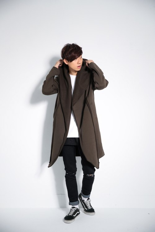 Gross lapel coat 8850