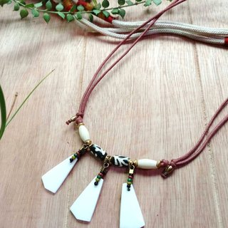 /Echo~ Echo/Echo Necklace